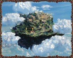 Une world map en 2D, accompagnée d'une sublime musique cristalline...