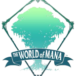 Le p^rojet world of mana (logo)
