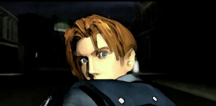 Resident Evil 2 - Leon surpris !