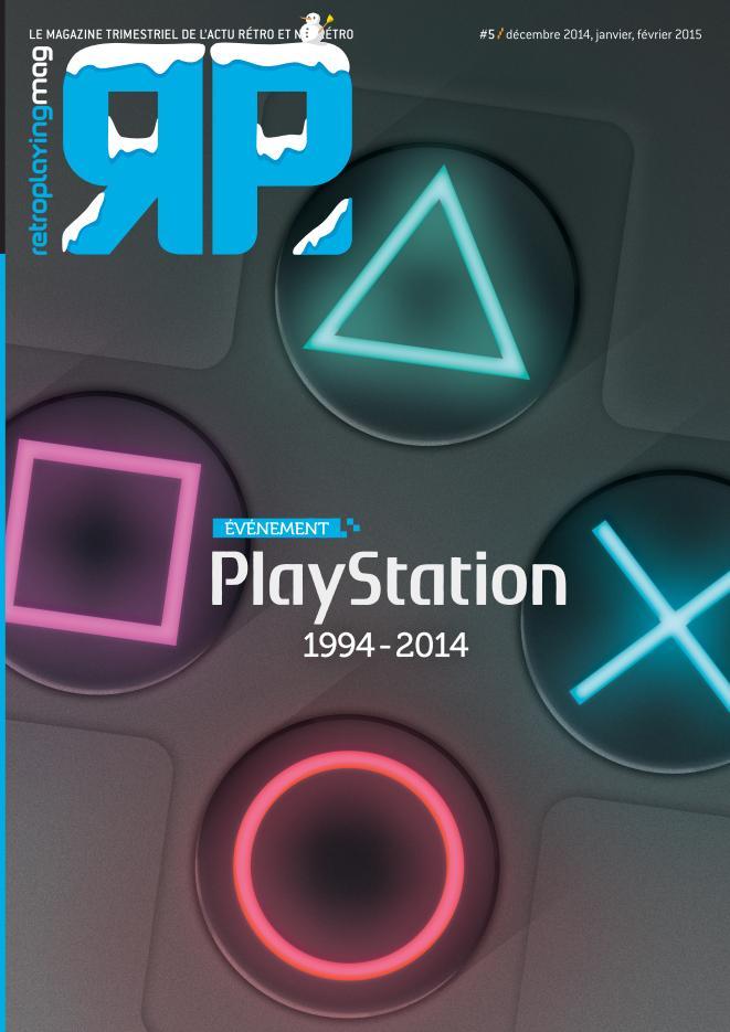 Retro Playing PlayStation