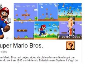 Mario easter egg